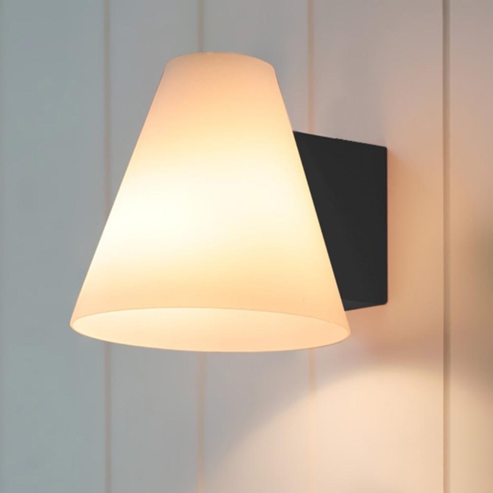 모리 벽1등[LED]-블랙