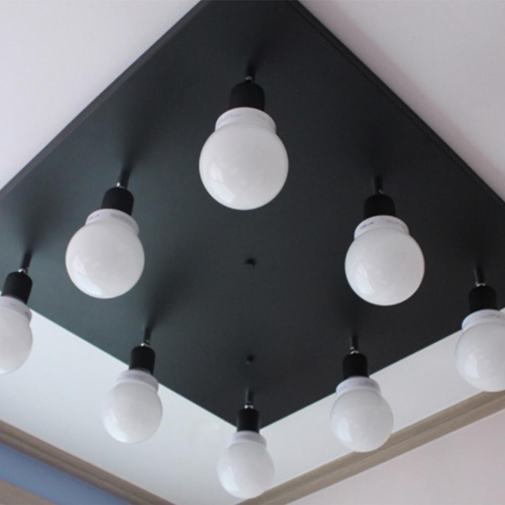 심플스퀘어 8등-블랙