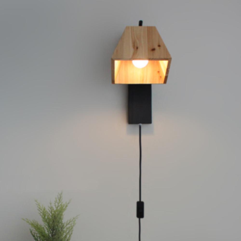트리 벽걸이[LED]-블랙