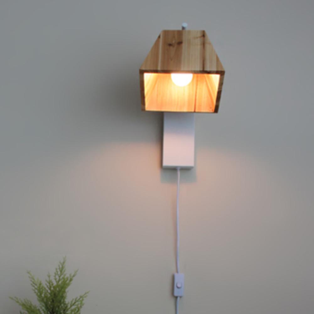 트리 벽걸이[LED]-화이트