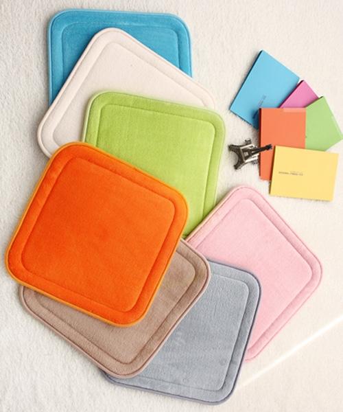 따뜻하고 폭신한 심플 메모리폼 방석 5colors