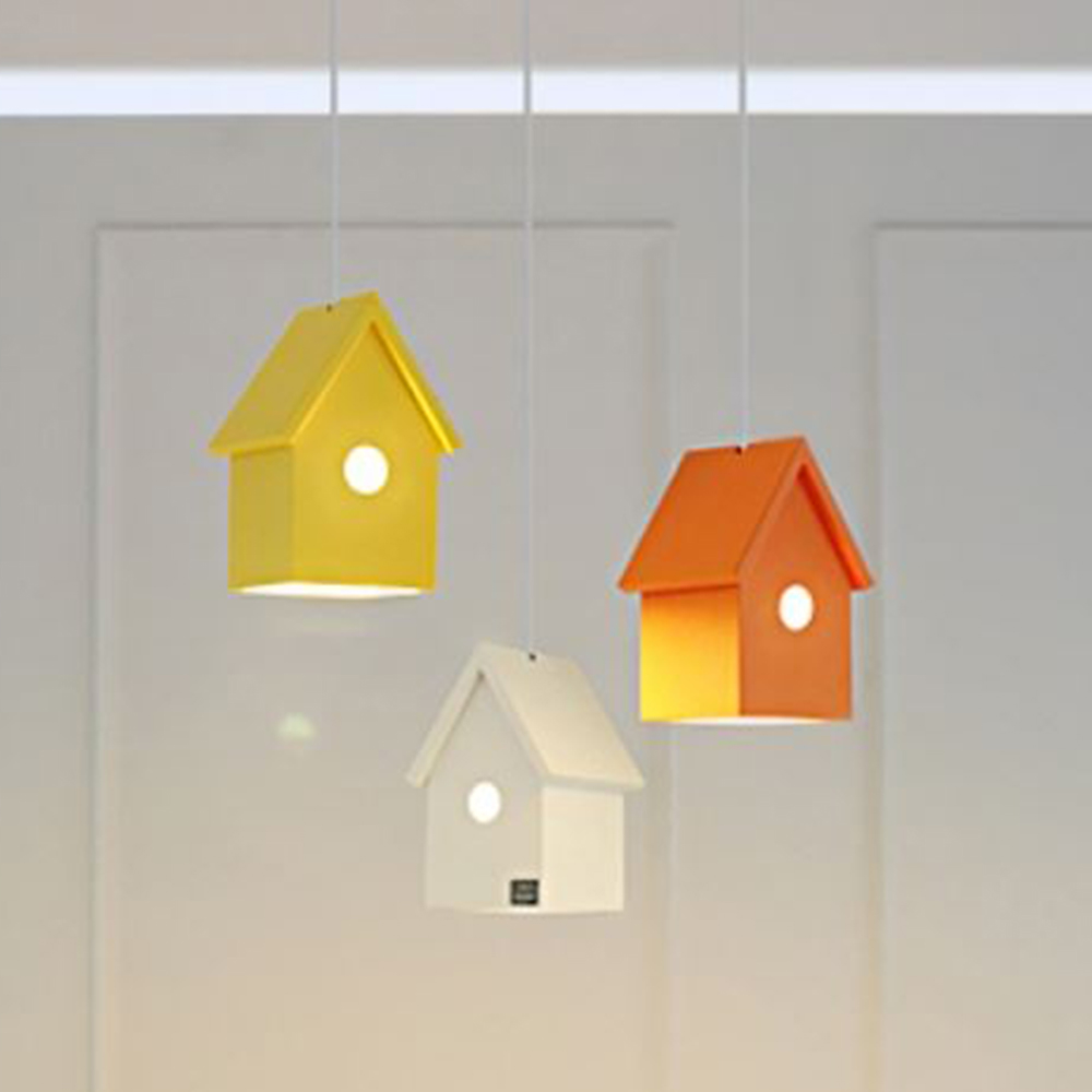 꼬빌3등 라운드형 펜던트[LED]-6color