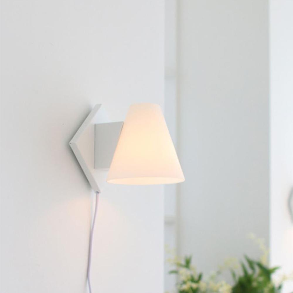 모리 벽걸이 스탠드[LED]-화이트