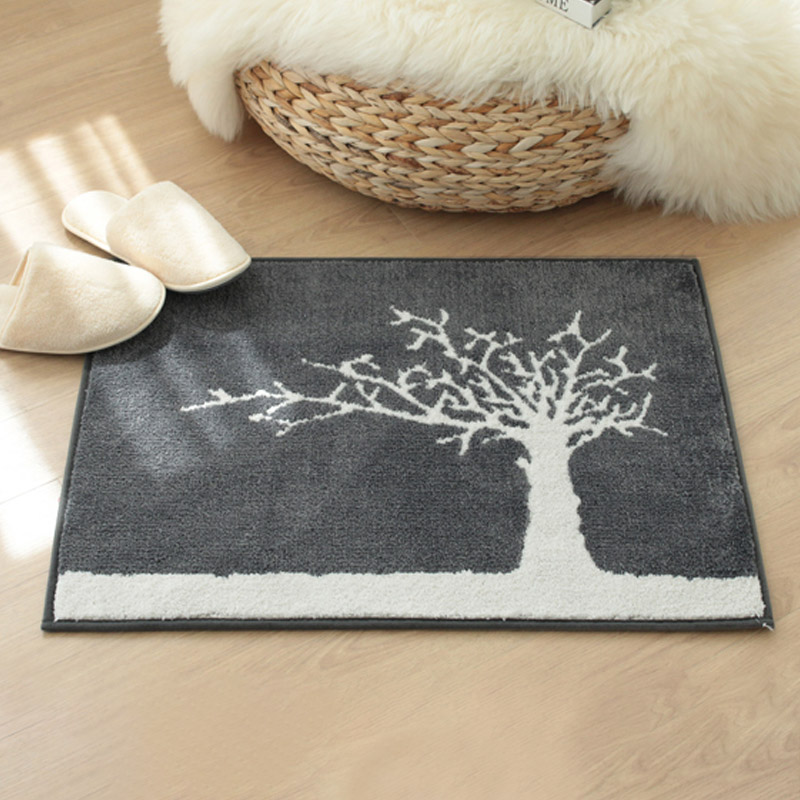 [반짝특가]나무 자카드 발매트 45x60