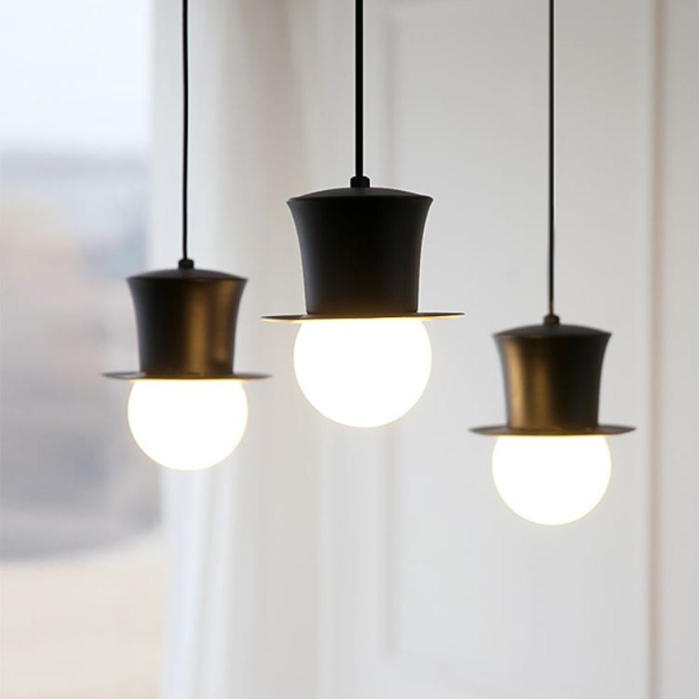 [LED] 코코3등 펜던트-블랙or화이트