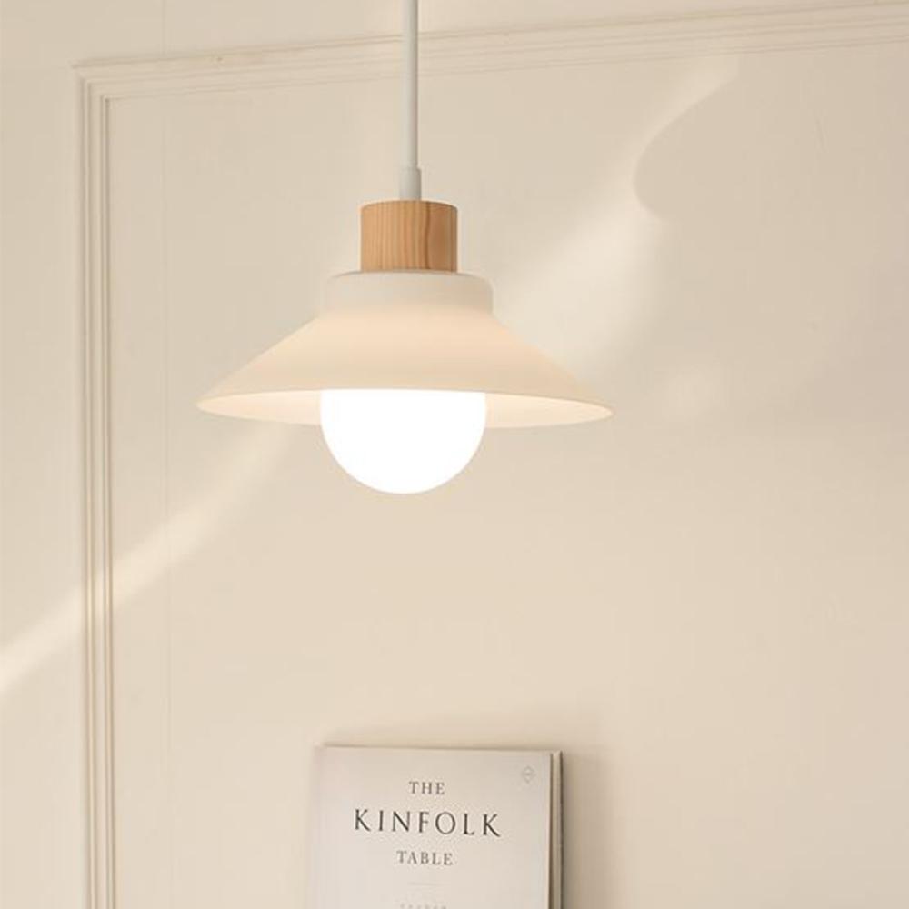 LED 레이1등 펜던트-유백유리