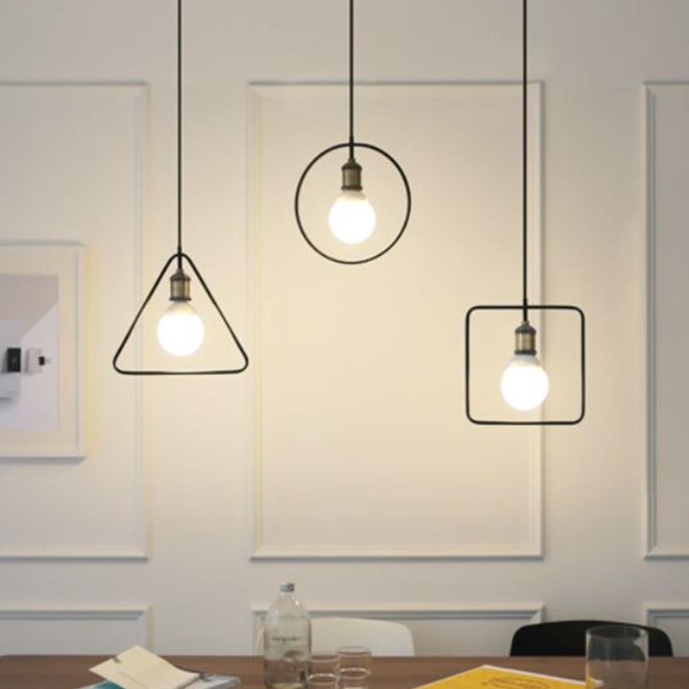 [LED] 프레임 3등 펜던트