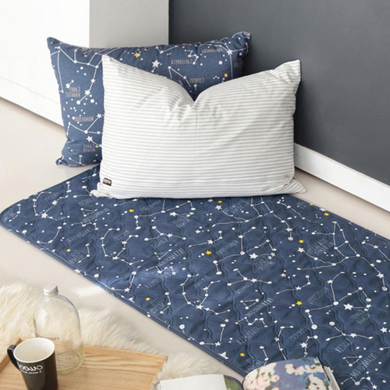 별자리 전기요 네이비 소형 (70x180cm)