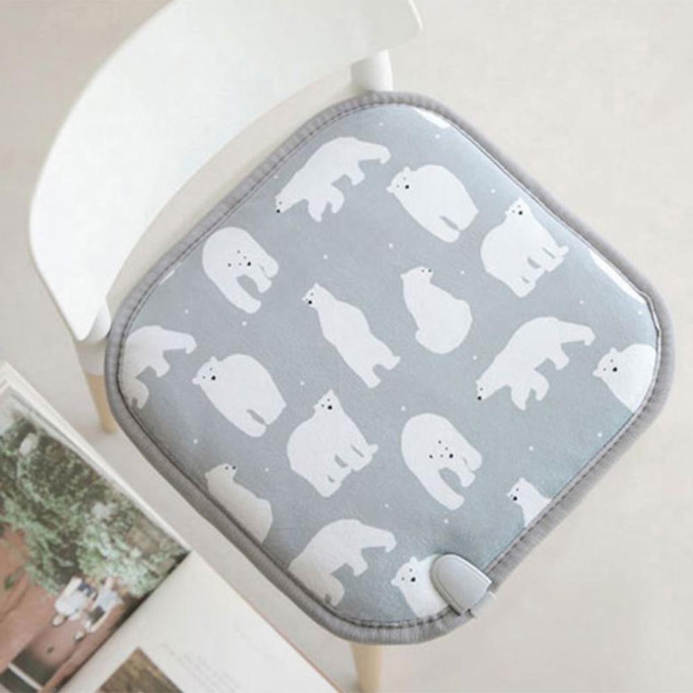 북극곰 전기방석 [1인용]