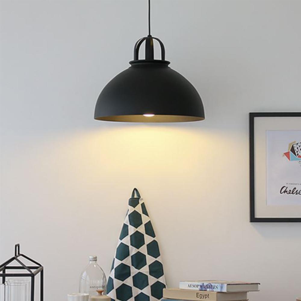 LED 코울1등 펜던트-블랙or화이트