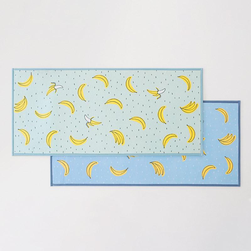 [썸머균일가]바나나 주방매트[50x110]
