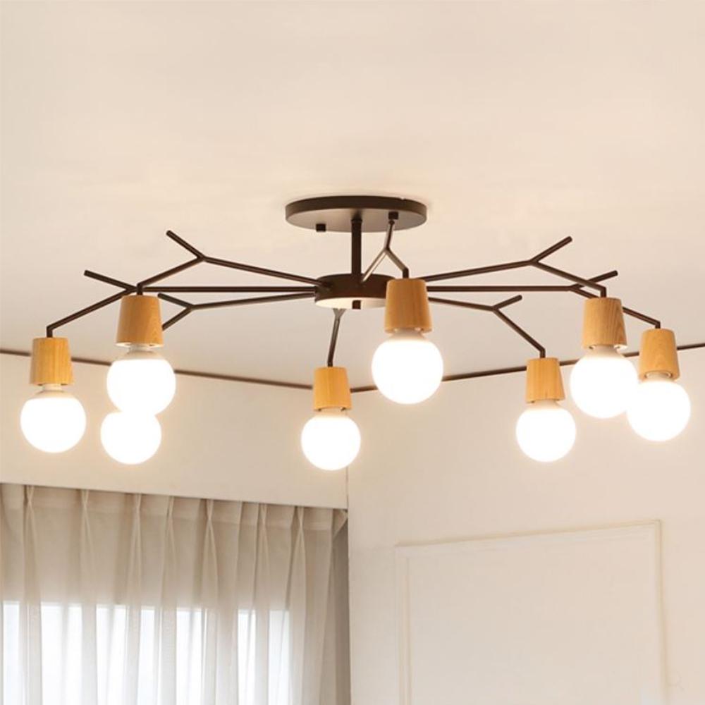 [LED] 보우 8등 거실등