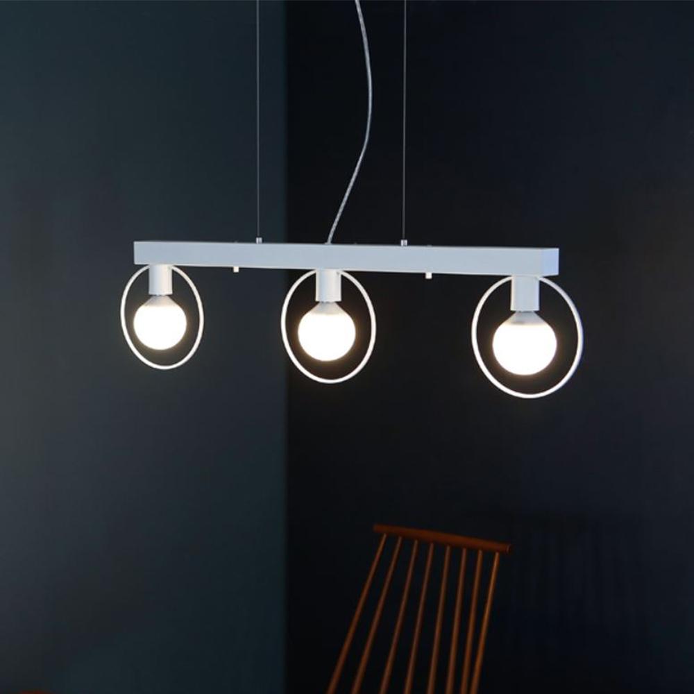 [LED] 네스트 3등 펜던트-화이트