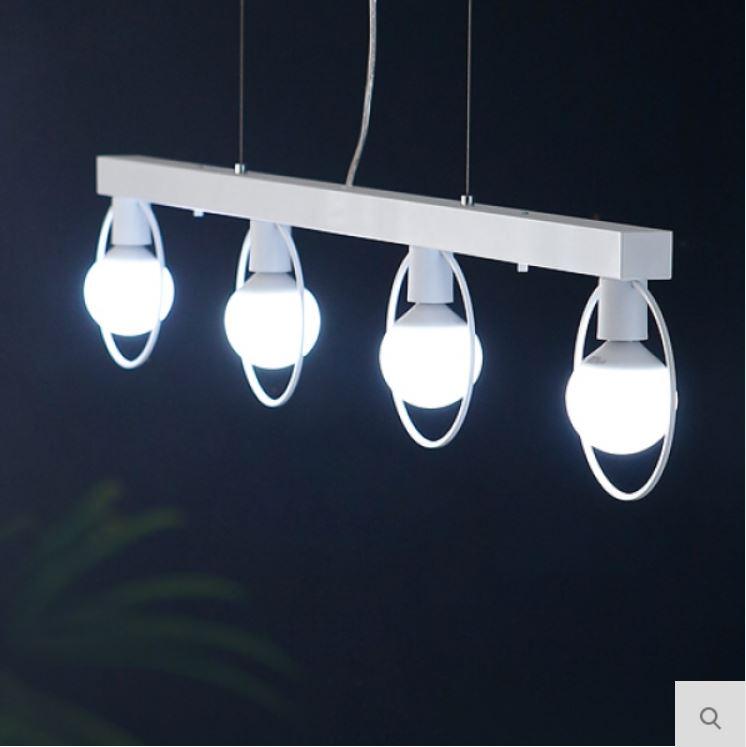 [LED] 네스트 4등 펜던트-화이트