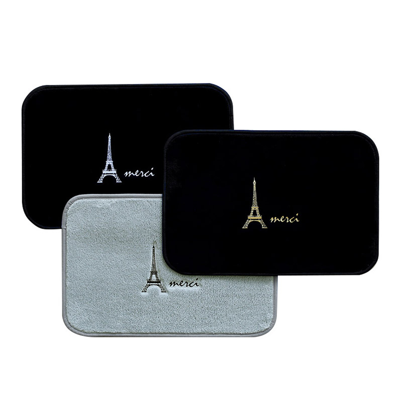에펠탑 자수 발매트