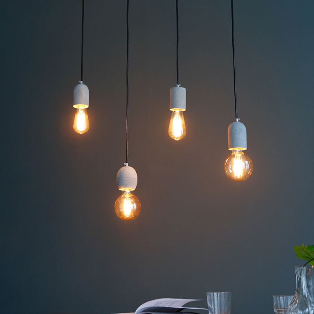 [LED] 코나 4등 펜던트 - 에디슨