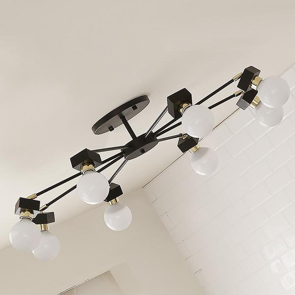 [LED] 미숑8등 직부등(라운드형-2color)