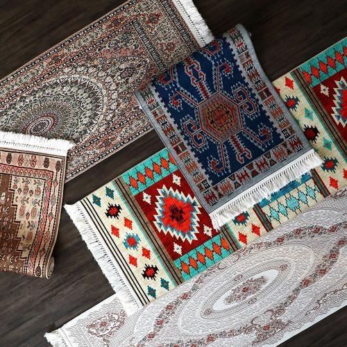 알러지케어 터키 면 테슬 주방매트 러너모음 60x180 5color