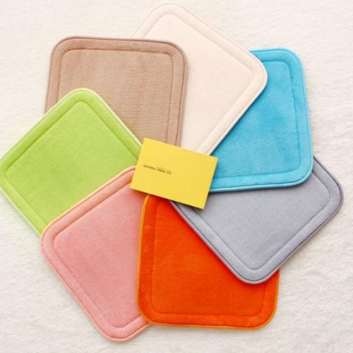 극세사 솔리드 푹신한 메모리폼 (방석 발매트 주방매트 소파패드 러그)모음 8size 5color