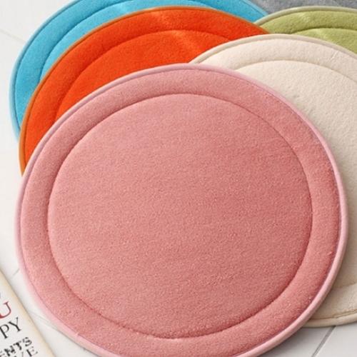 극세사 솔리드 푹신한 메모리폼 (방석 발매트 주방매트 소파패드 러그)모음 5colors 8size