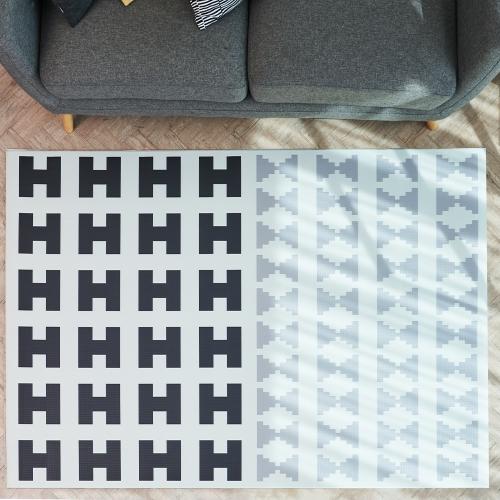 북유럽 방수 쿠셔닝 PVC 녹스 매트 러그 카페트
