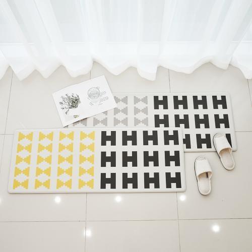 북유럽 방수 쿠셔닝 PVC 녹스 주방매트