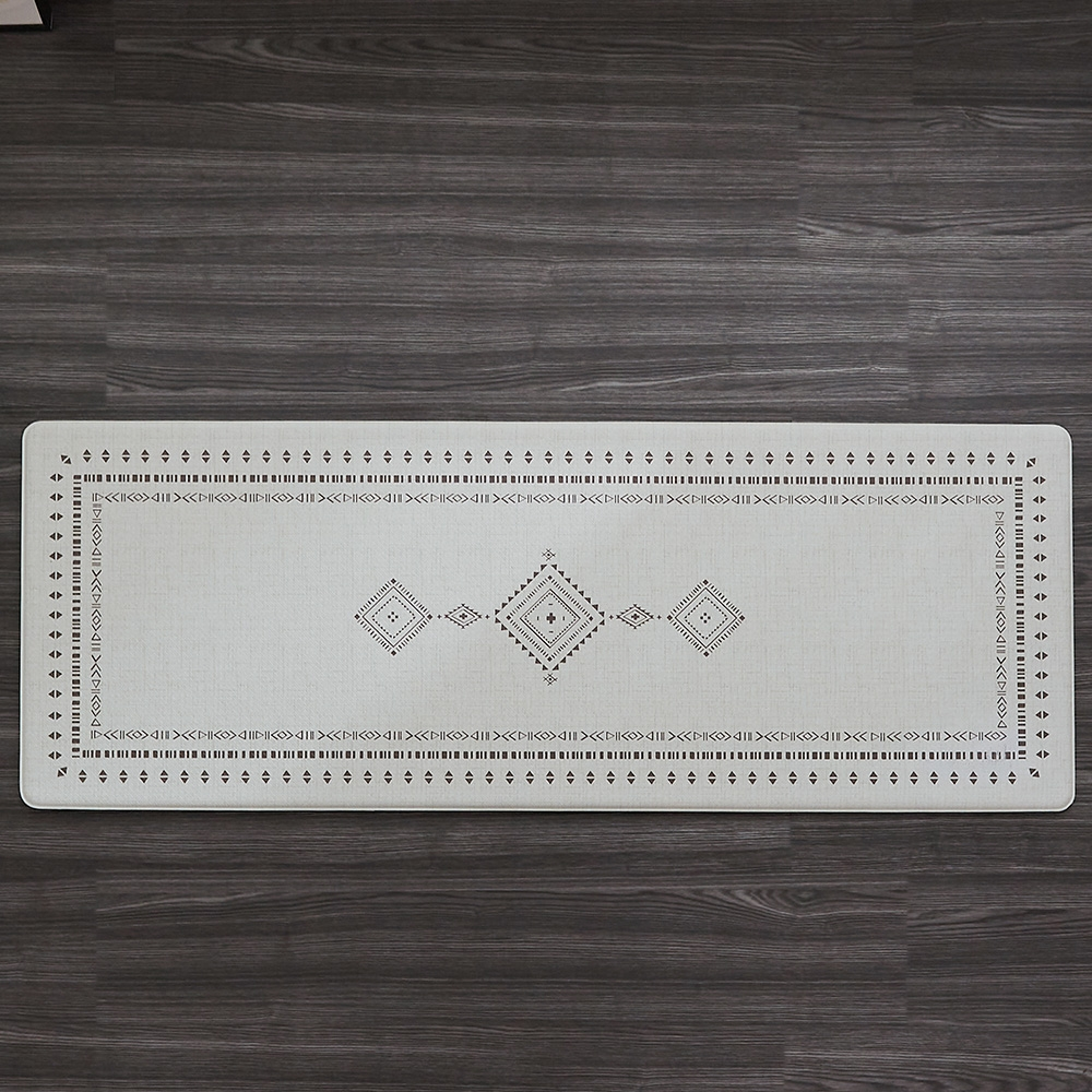리퍼브 모나코 에스닉 방수 쿠셔닝 PVC 주방매트 45x120