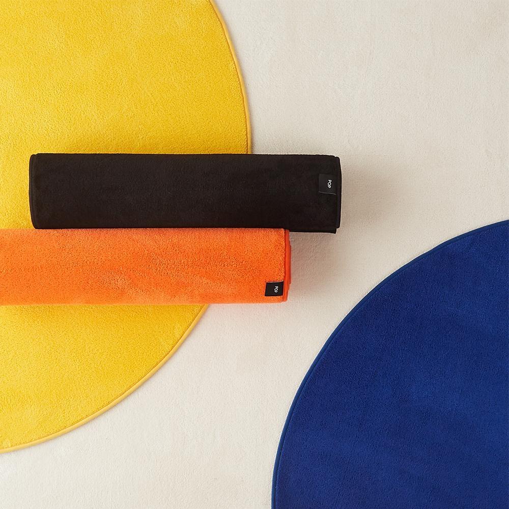 네온 팝 원형 러그 5colors